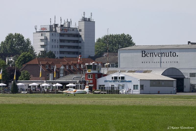 Rainer Kleinedowe Fotos Flugplatz Hamm Lippewiesen
