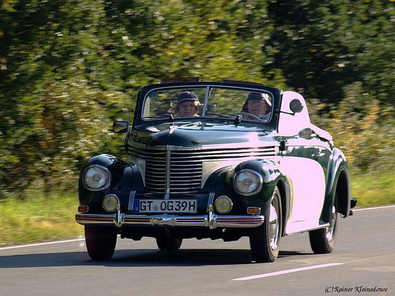 Opel Kapitän, Baujahr 1939